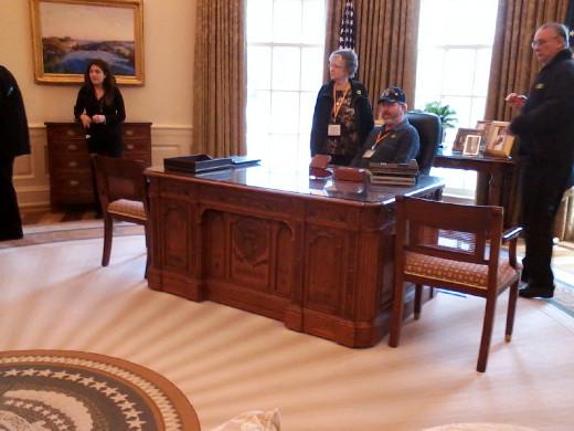 Oval Office - Bush Museum - Dallas,TX