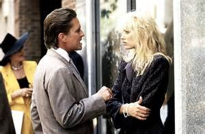 Michael Douglas may have won an Oscar for Wall Street, but Daryl Hannah seems a little miffed at receiving a Razzie Worst Supporting Actress nom
