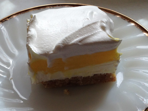 Creamy Lemon Layered Dessert