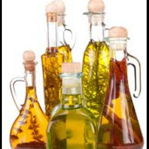 Put your homemade herb-infused olive oils in attractive bottles to really make them look nice. They make great gifts!