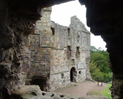 Dirleton Castle - More Inside Views