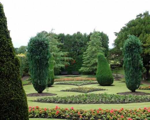 The most impressive Gardens noted on this trip - Dirleton Gardens