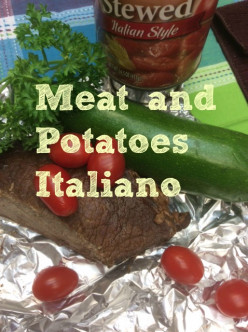 Meat and Potatoes Italian Style