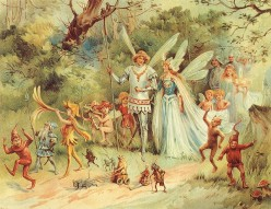 Faerie Folklore:  Elves and Pixies