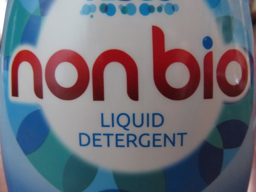 In the UK, non-bio laundry detergents are usually clearly labelled.