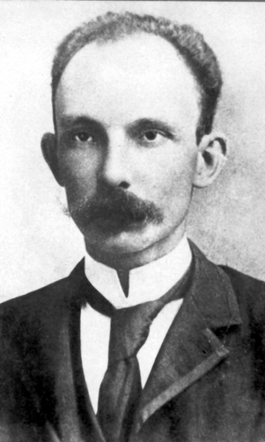 Jose Marti, the Father of Cuban Nationalism, 1895.