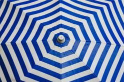 Pattern on umbrella