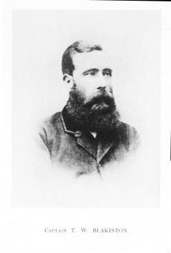 Captain Thomas Wright Blakiston