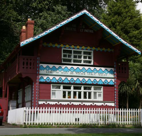 Swiss cottage in Singleton Park