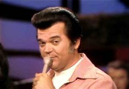 Conway Twitty trying to project the image of being a love god