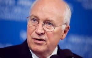 Former vice-president, Dick Cheney, one of the most-arrogant people ever to live in the White House