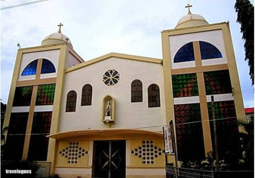 Sto. Tomas de Villanueva Parish, home to some of our most cherished childhood memories where we would go swimming during floods, meet people. do the Flores de Mayo, parade in Reina Elena,  meet Jesus during Easter Sunday dawn, etc.