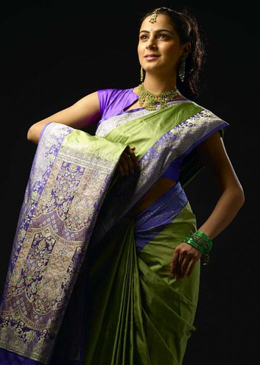 Traditional Indian Saree [Traditional dress]