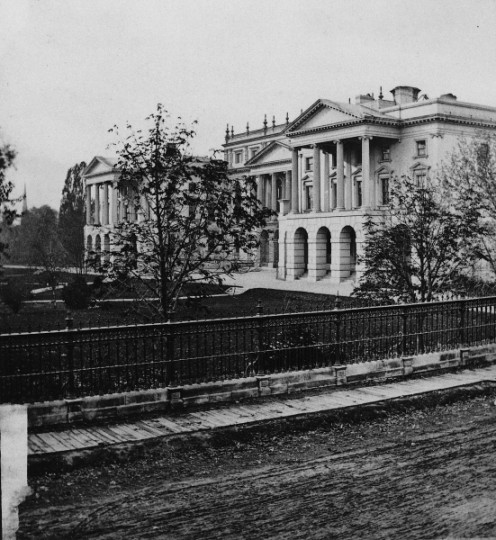 Osgoode Hall, Toronto, Canada in 1868