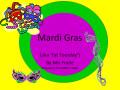 English Lessons: Mardi Gras