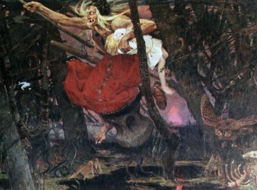 Baba Yaga by Viktor M. Vasnetsov