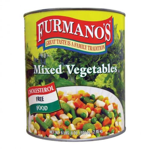 Canof  Mixed Vegetables