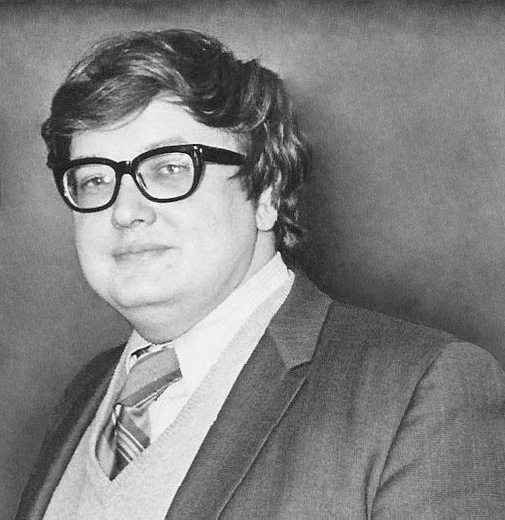 Roger Ebert, one of the most respected critics of all time.
