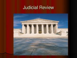 According to the constitution does the Federal Supreme Court have the power of judicial review ?