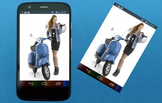 There are multiple ways to get a screenshot on Moto G  Android mobile phone.