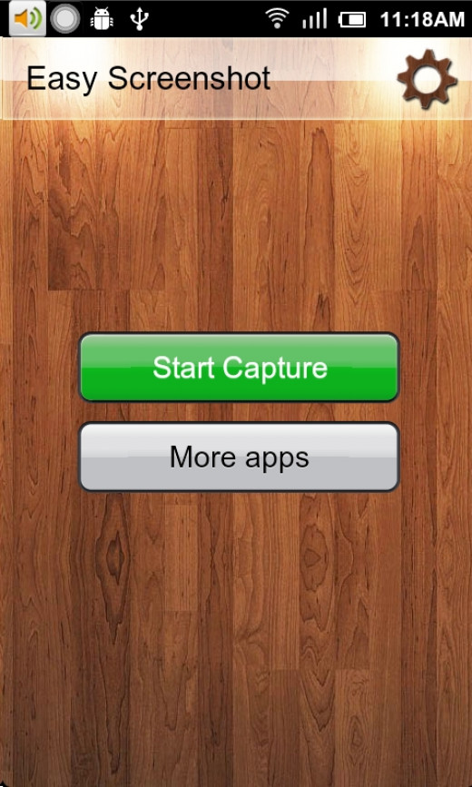 Easy Screenshot is an app which does what its  name implied.
