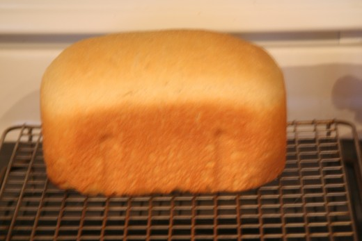 Finished Cornmeal Bread with Barley Flour