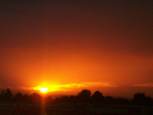 Sandy, UT sunset
