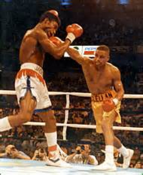 Gerald McClellan knocked out Julian Jackson both times they met in the squared circle. Both matches was being contended for the 160 pound strap.