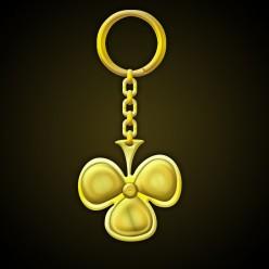 Design Golden Handmade Club Key Holder in Photoshop