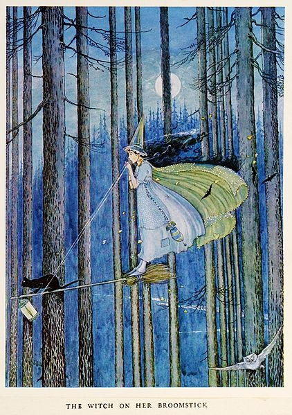 Witches were said to have the ability to fly...just as the fay were.