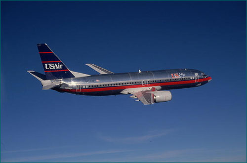 A USAir 737 similar to flight 585 and 427.