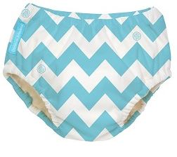 Charlie Banana CB Chevron Blue Training Pants