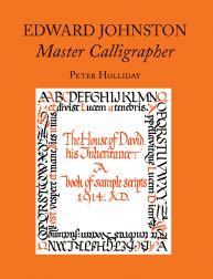 This is the front cover of a book about calligraphy. (This is not the book I refer to in the text.)
