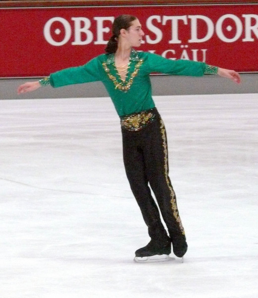 Reigning US National Champion Jason Brown. Used via: http://creativecommons.org/licenses/by-sa/3.0/deed.en