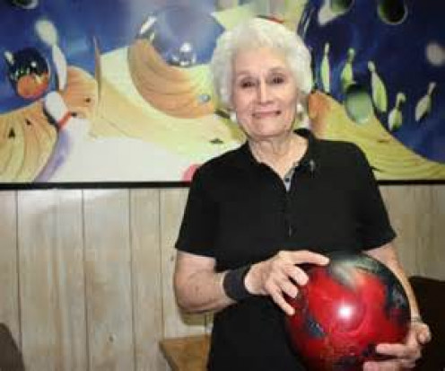 This 51-year-old lady enjoys bowling