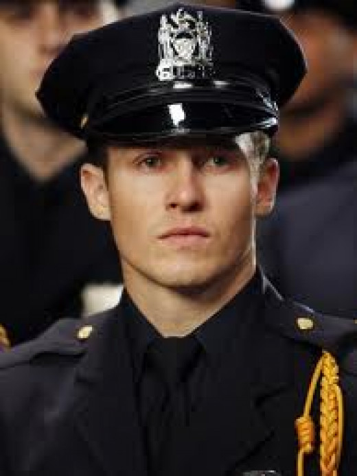 Jamie Reagan Police Officer