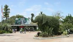 Oklahoma City Zoo outside area