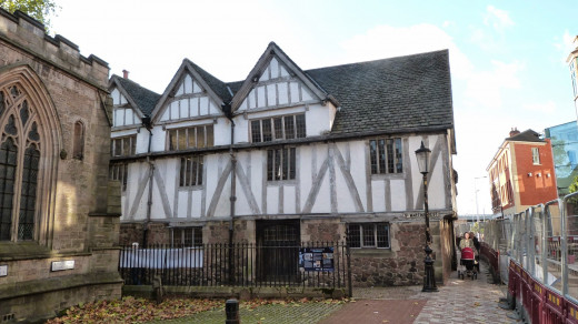 Built in 1390 and an important building at the time of Richard's death.