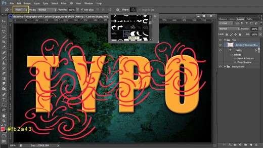 how to create a photoshop clipping mask in shapes