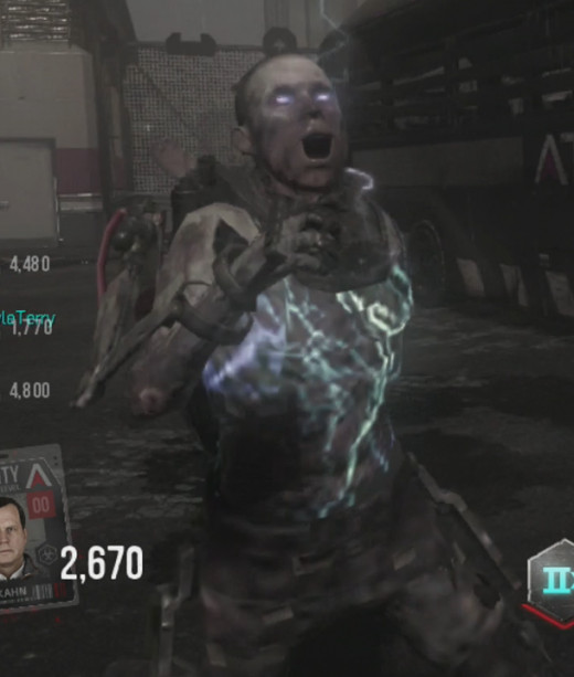EMP Zombies will temporarily disable your suit and its abilities.