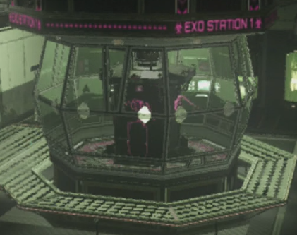 The Exo Station needs power to make the suit accessible.