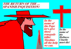 Perhaps there will be the return of...The Spanish Inquisition!