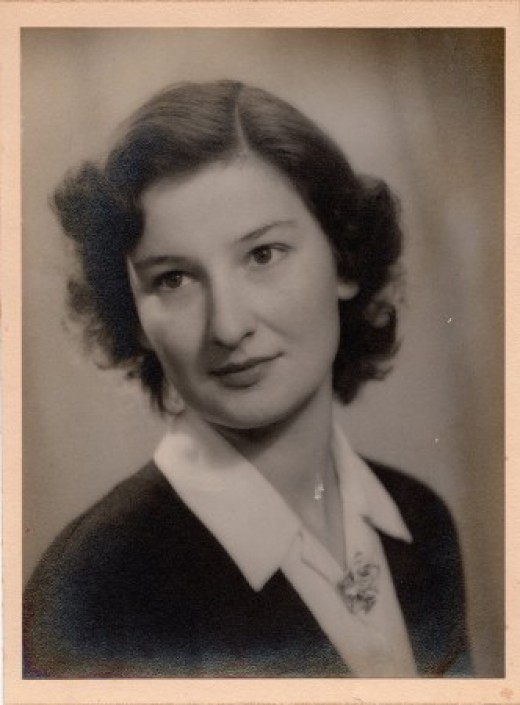 My Mum, Mary Stone, who died 20th April 2013