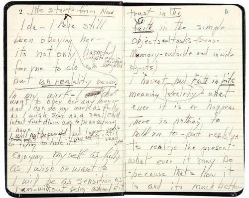 Marilyn Monroe's diary.