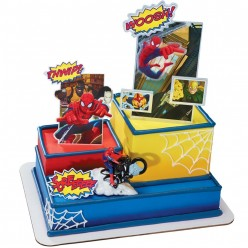 How To Make a Spiderman Birthday Cake