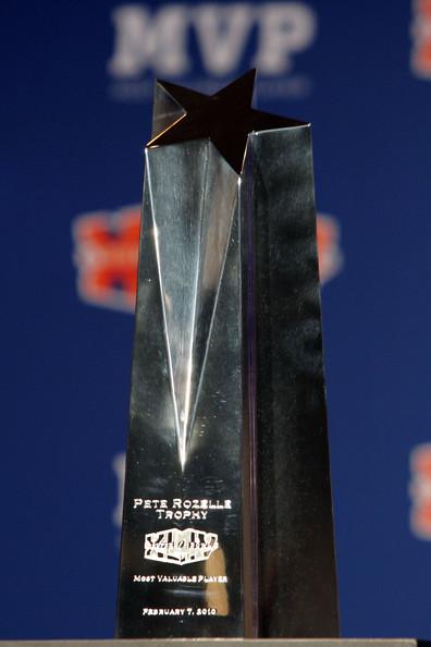 The Super Bowl MVP Trophy