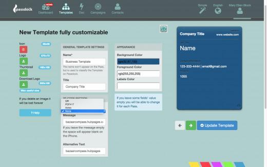 Passdock generic pass creator screenshot