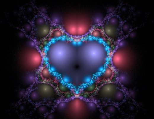 Blue Heart by Sharon Apted