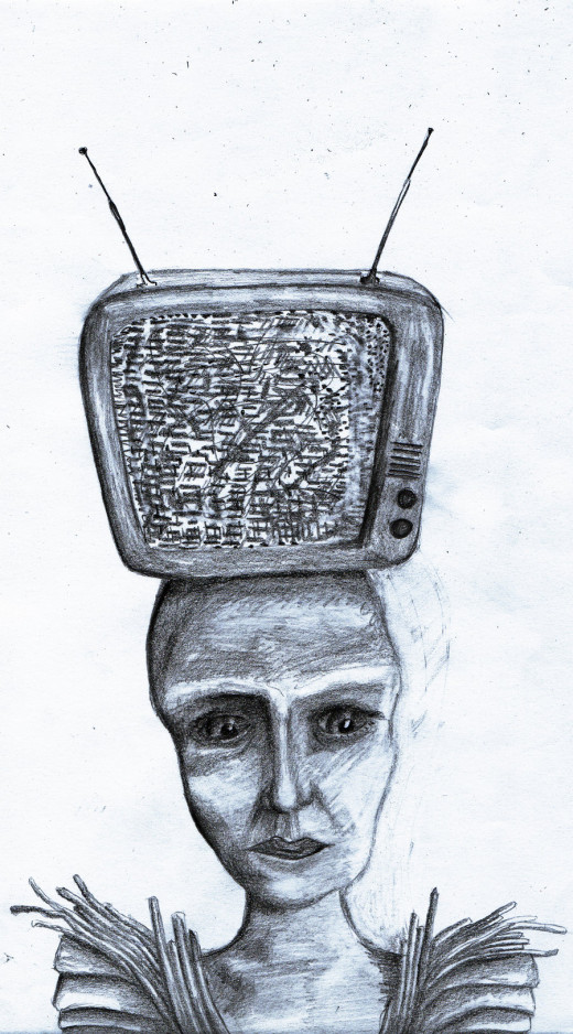 God is In The TV by Serpent3