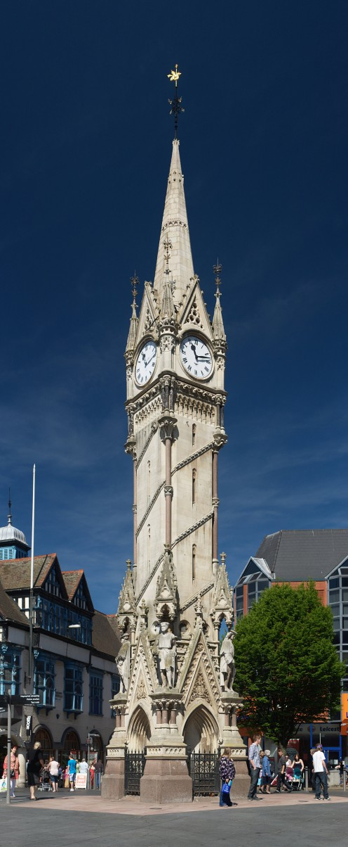 Haymarket Memorial Clock Tower, Leicester